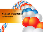 Holiday/Special Occasion: Holiday Balloons PowerPoint Template #06295