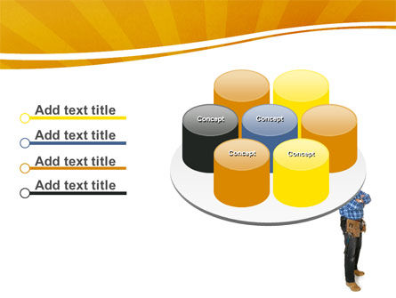 Builder With A Tool Belt PowerPoint Template Slide 12
