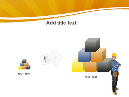Builder With A Tool Belt PowerPoint Template Slide 13