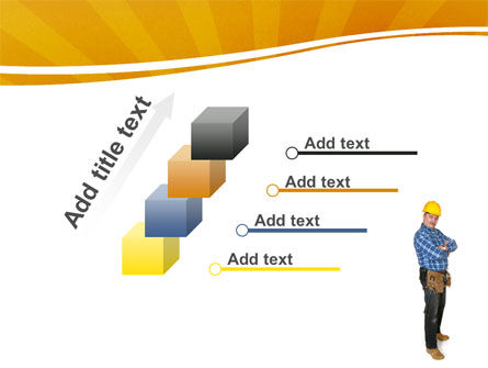 Builder With A Tool Belt PowerPoint Template Slide 14