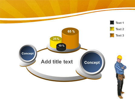 Builder With A Tool Belt PowerPoint Template Slide 6