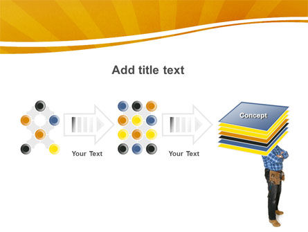 Builder With A Tool Belt PowerPoint Template Slide 9