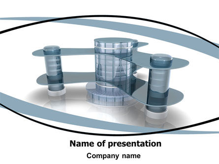 Construction: Innovative Architecture PowerPoint Template #06297