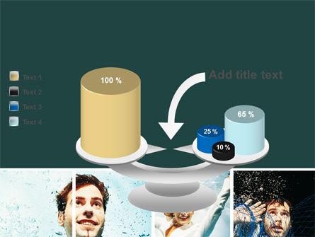 Businessmen Underwater PowerPoint Template Slide 10