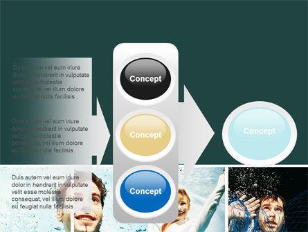 Businessmen Underwater PowerPoint Template Slide 11
