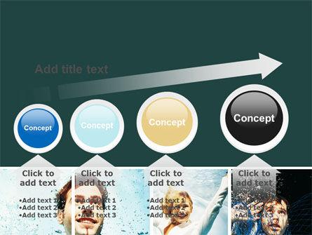 Businessmen Underwater PowerPoint Template Slide 13