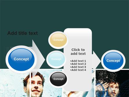 Businessmen Underwater PowerPoint Template Slide 17