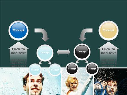 Businessmen Underwater PowerPoint Template Slide 19