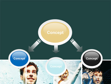 Businessmen Underwater PowerPoint Template, Slide 4, 06298, Consulting — PoweredTemplate.com