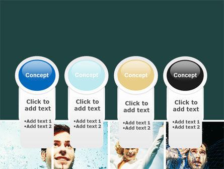 Businessmen Underwater PowerPoint Template Slide 5