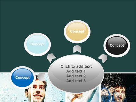 Businessmen Underwater PowerPoint Template Slide 7