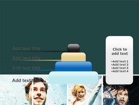 Businessmen Underwater PowerPoint Template Slide 8