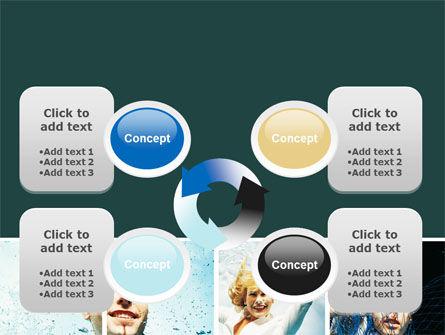 Businessmen Underwater PowerPoint Template Slide 9