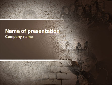 Education & Training: School Championship PowerPoint Template #06300