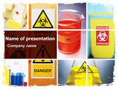 Technology and Science: Health Risk PowerPoint Template #06301