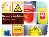 Technology and Science: Modelo do PowerPoint - risco de vida #06301