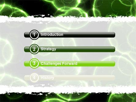 Microorganism PowerPoint Template, Slide 3, 06303, Abstract/Textures — PoweredTemplate.com