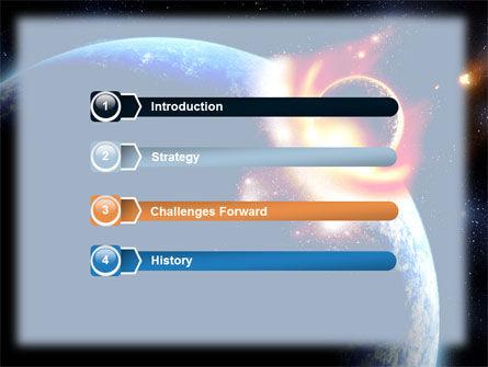 Big Bang Crash PowerPoint Template, Slide 3, 06306, Nature & Environment — PoweredTemplate.com
