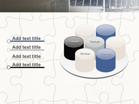 Business Center Puzzle PowerPoint Template Slide 12