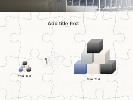 Business Center Puzzle PowerPoint Template Slide 13