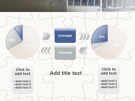 Business Center Puzzle PowerPoint Template Slide 16