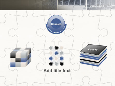 Business Center Puzzle PowerPoint Template Slide 19