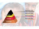 Children Around The World PowerPoint Template#12