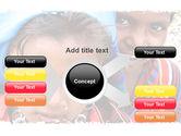 Children Around The World PowerPoint Template#14