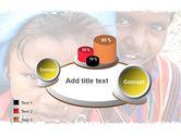 Children Around The World PowerPoint Template#16