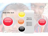 Children Around The World PowerPoint Template#17
