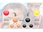 Children Around The World PowerPoint Template#19