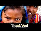 Children Around The World PowerPoint Template#20