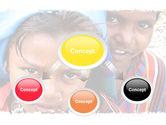Children Around The World PowerPoint Template#4