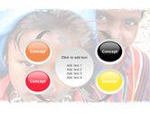 Children Around The World PowerPoint Template#6