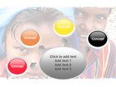 Children Around The World PowerPoint Template#7