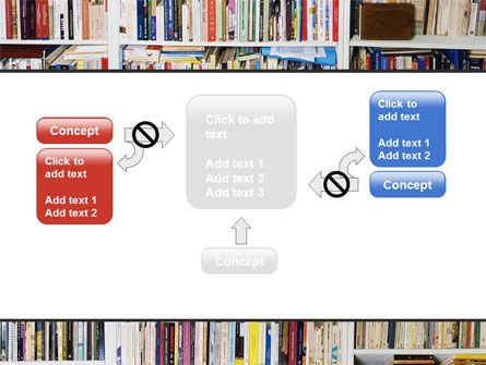 Book Shelves PowerPoint Template Slide 13