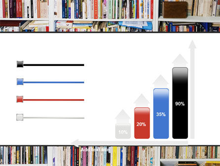 Book Shelves PowerPoint Template Slide 8