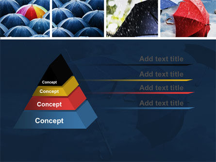 Umbrella Mania PowerPoint Template Slide 12