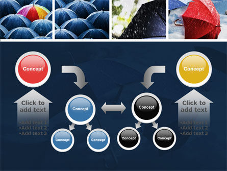 Umbrella Mania PowerPoint Template Slide 19