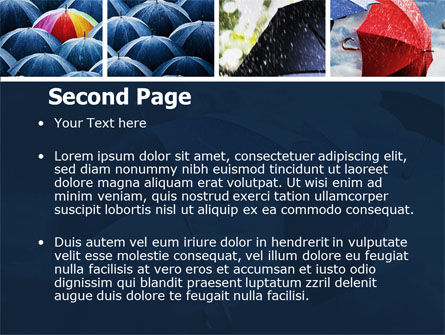 Umbrella Mania PowerPoint Template, Slide 2, 06314, Consulting — PoweredTemplate.com
