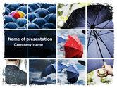 Consulting: Umbrella Mania PowerPoint Template #06314