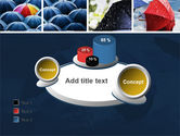 Umbrella Mania PowerPoint Template#16