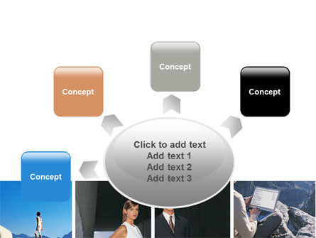 Business Climbing Lifestyle PowerPoint Template Slide 7