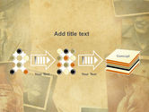 Vintage Photo Frame PowerPoint Template#9