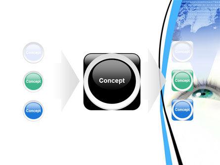 Digital Eye PowerPoint Template Slide 17