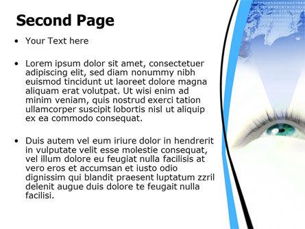 Digital Eye PowerPoint Template Slide 2