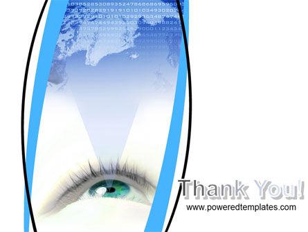Digital Eye PowerPoint Template Slide 20