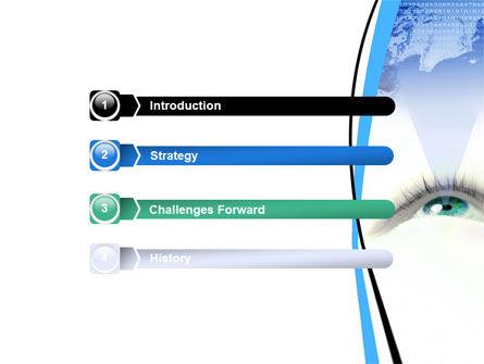 Digital Eye PowerPoint Template Slide 3