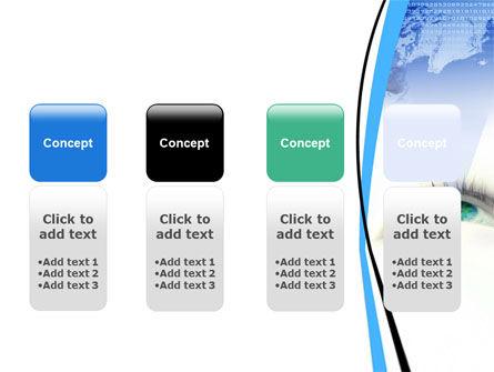 Digital Eye PowerPoint Template Slide 5