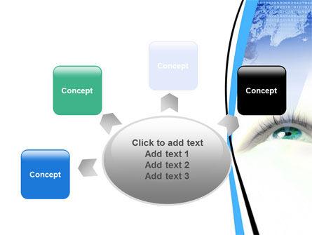Digital Eye PowerPoint Template Slide 7